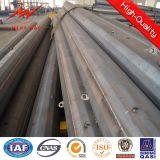 Poste de acero octagonal utilitario con la galvanización de la INMERSIÓN caliente