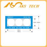 자동 접착 Thermochromic 접지 닦은 기계 온도 레이블