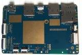 Control de placa de circuito de la junta de aluminio de 4 capas de la impresora Fr4 electrónico integrado PCBA Ru 94V0 fábrica de ensamblaje de la placa PCB RoHS
