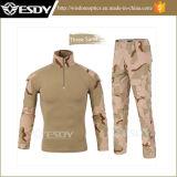 Gen2戦闘のワイシャツ+動悸(カエルの堅いスーツ) Multicamは軍服を着色する