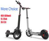 bici elettrica del motorino della batteria di litio di 600W 52V 18ah