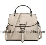 Borsa del cuoio genuino del sacchetto delle ultime donne, signora di cuoio elegante Handbag