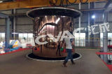 Goldbeschichtung-Überzug-Geräten-Maschine des Edelstahl-Blatt-Rohr-PVD
