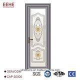 Preço de alumínio das portas do banheiro do toalete do vidro geado de China