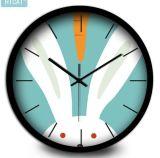 장식적인 벽시계 침묵하고는 & 비 똑딱거리는 석영 시계 10는 12 인치를 조금씩 움직인다