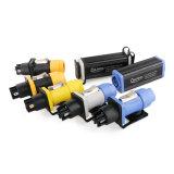 Resistente a rayos UV resistente al agua de baja tensión eléctrica la salida 3 Pin macho conector hembra