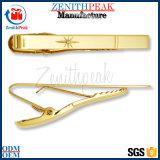 Regalo Clip de metal de oro, amarre barato grapas, clips de amarre de fresco a la venta