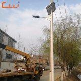 Ce RoHS IP65 LED Lámpara Solar con batería de litio para Street
