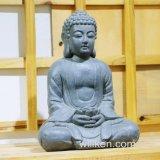 Statua poco costosa del Buddha dell'oggetto d'antiquariato della decorazione del giardino di vendita calda