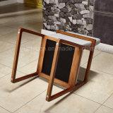 ([سب-ك612]) فندق يعيش غرفة خشبيّة إطار نجادة ردهة كرسي تثبيت