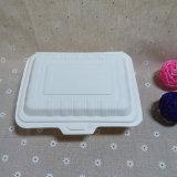 マイクロウェーブふたの生物分解性の持ち帰り用の料理ボックスが付いている安全な食糧容器
