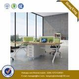 Mobília de escritório de alumínio da estação de trabalho da equipe de funcionários do conjunto da parede de divisória de vidro (UL-NM103)