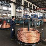 fil en aluminium plaqué de cuivre de 3.68mm CCA-10A pour le câble coaxial de liaison