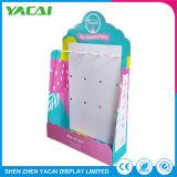 Exposición de joyas de la seguridad de suelo de papel para rack de soporte de pantalla para tiendas