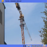 50mブーム5tonのシュモクザメのタワークレーンのタワークレーンの製造業者