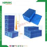 Boîte d'emballage en plastique fourre-tout de la Caisse de déplacement en plastique avec couvercle