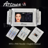 品質のArtmex V8 2のハンドルのデジタル最もよい入れ墨の常置構成機械
