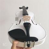 Weiße Violinen-Musikinstrument-Violine mit Violinen-Bogen 4/4