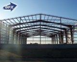 Almacén prefabricado de la estructura de acero para el centro de la logística