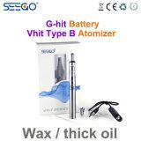 Seego 장식적인 패턴 전자 담배 개인적인 왁스 기화기