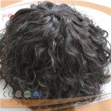 モノラルレースのシリコーンの閉鎖端のインドの毛の部分(PPG-l-01883)
