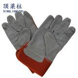 Безопасности тумака 10 дюймов перчатки короткой кожаный для заварки