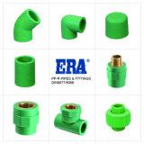 Croix d'ajustage de précision de pipe des systèmes sifflants PPR d'ère (DIN8077/8088) Dvgw