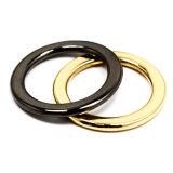 L'inarcamento rotondo in lega di zinco dell'anello del metallo caldo di vendita per il sacchetto parte gli accessori delle merci del cuoio di pattini dell'inarcamento di cinghia (YK908)
