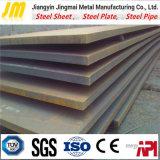 Placa de acero de acero suave de la hoja A36 A572 de carbón