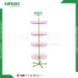 Стойка индикации провода обтекателя втулки 4 ярусов коммерчески розничная вращая