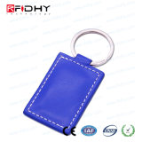 Design personalizado 125kHz etiqueta da chave Telecomando inteligente de couro