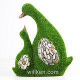 La nueva decoración del hogar de la creatividad se reunió la estatua linda del pato para la venta
