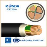 Алюминиевый корпус электрического кабеля 16 sqmm 0,6 кв алюминиевого завода-изготовителя кабеля