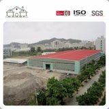 Edificio de acero del bajo costo de la fábrica del taller de la estructura ligera prefabricada industrial del metal