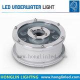 Unterwasserlampe des Brunnen-6W des Licht-45mil IP68 RGB LED