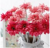 Margherita di seta del fiore del Gerbera della margherita del fiore artificiale per la decorazione