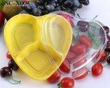 처분할 수 있는 과일 커트 상자에 의하여 감싸이는 Heart-Shaped 거실 사탕 격판덮개