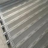 Banda transportadora de placa de encadenamiento del acero inoxidable