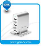 Многофункциональный 5 USB-кабель зарядного устройства с металла для настольных ПК