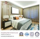 Het moderne Meubilair van de Slaapkamer van het Hotel met het Houten Leveren (yb-s-8)