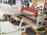 Hochgeschwindigkeits-PLC-Steuerplastikfilm-aufschlitzende Maschine mit Rückspulenfunktion