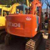 Máquina escavadora hidráulica usada máquina da esteira rolante de Hitachi 120-3 da construção de Japão