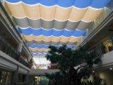 Tessuto rivestito ad alta resistenza di PTFE per la tenda, schermo, tenda di finestra