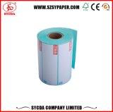 Etiqueta engomada auta-adhesivo termal sensible al calor de encargo