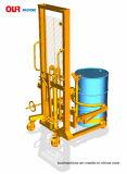 Eingestufte hydraulische Trommel-Heber mit Kippern Da450-1