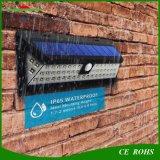 54LED Outdoor Motion Sensor Lamp Wireless IP65 Solar Powered Wall Light