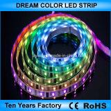 Striscia di DC12V SMD 5050 RGB Ws2811 LED