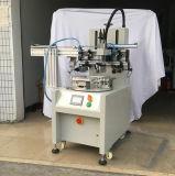 Stampatrice rotativa a base piatta dello schermo con il braccio del robot