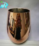 Het rekupereerbare Geplateerde Gouden Glas van de Rode Wijn