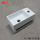 浴室のためのKkrの衛生製品の小さい円形の大理石の洗面器